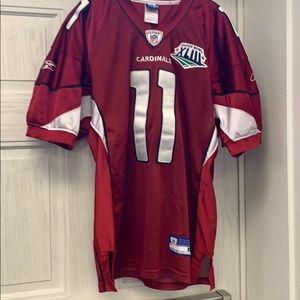 3e44b6f01 Reebok Other - EUC Cardinals NFL Fitzgerald jersey size 48